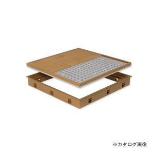 城東テクノ Joto 高気密型床下点検口 (標準型600×600mm) シート貼り完成品 アイボリー (1セット) SPF-R6060S-IV|plus1tools