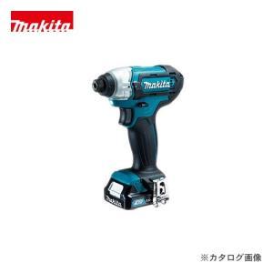 マキタ Makita 充電式インパクトドライバ 10.8V バッテリー×2本・充電器・ケース付 TD110DSHX|plus1tools