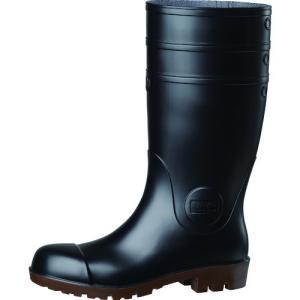 ミドリ安全 耐油・耐薬 安全長靴 ワークエース NW1000スーパー ブラック 26.0CM NW1000SP-BK-26.0|plus1tools