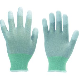 TRUSCO 指先コート静電気対策用手袋 Mサ...の関連商品5