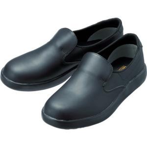 ミドリ安全 超耐滑軽量作業靴 ハイグリップ 25.5CM H700N-BK-25.5|plus1tools