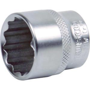 TRUSCO ソケット(12角) 差込角12.7 対辺13mm TS4-13W|plus1tools