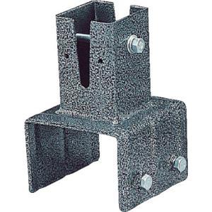 IRIS ラティスポスト固定金具 ブロック直接固定 120mm LPK-120B plus1tools
