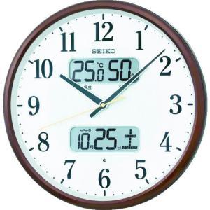 SEIKO 電波掛時計 P枠 KX383Bの商品画像
