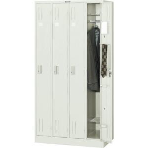 個別送料2000円 直送品 TRUSCO スタンダードロッカー 4人用 900X515XH1790 NL47|plus1tools