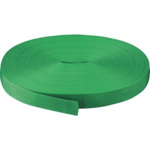TRUSCO PPベルト幅30mmX長さ50m 緑 PPB-3050:GN plus1tools
