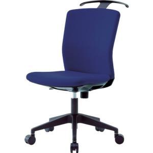 運賃見積り 直送品 アイリスチトセ ハンガー付回転椅子(フリーロッキング) ネイビー HG-X-CKR-46M0-F-N|plus1tools