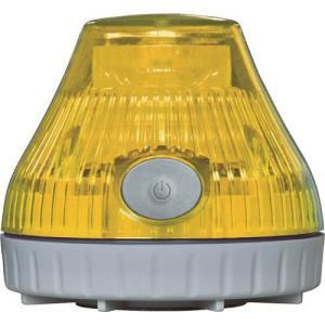 NIKKEI ニコPOT VL08B型 LED回転灯 80パイ 黄 VL08B-003DY plus1tools