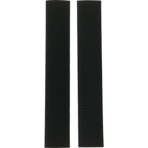 ユタカメイク マジックテープ アイロンワンタッチ 25mm×15cm ブラック G-86