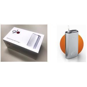 最新型 glo グロー シルバー スターター キット 本体 新品未開封 電子タバコ アイコス のりかえ 送料無料