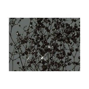 黒ラメ・ソフトカスミ草の画像