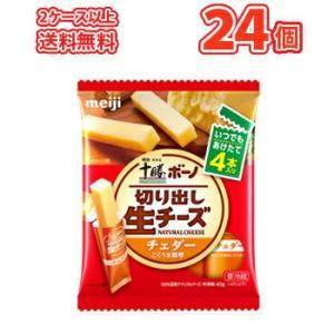 明治ボーノチーズ明治北海道十勝チェダー(10袋)2箱 クール便 期間限定|plusin
