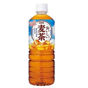 ダイドー おいしい麦茶ペットボトル 600ml×24本 PET まとめ買い ケース販売 お茶|plusin
