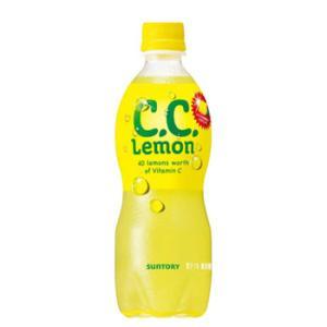 サントリー C.C.レモン ペットボトル(500mL×24本入)|plusin