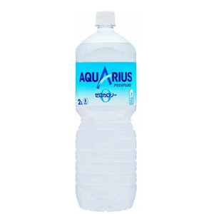 最安値挑戦中!コカ・コーラ アクエリアスゼロ ペコらくボトル 2L×6本/PET送料無料