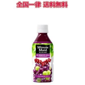 コカ・コーラ ミニッツメイドカシス&グレープ350mlPET×24本/送料無料