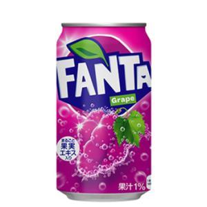 コカ・コーラ ファンタグレープ缶/350ml×24本|plusin