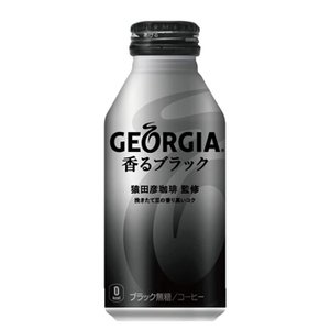 コカ・コーラ ジョージア香るブラック400ml×24本/ボトル缶|plusin