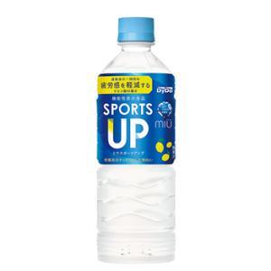 ダイドー ミウ プラススポーツ ブルーオアシスペットボトル 500ml×24本 miu ミウ みう 500PET まとめ買い ケース販売 スポーツドリンク 熱中症対策|plusin