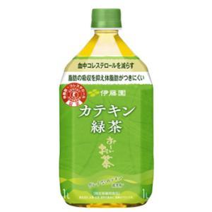 伊藤園 2つの働き カテキン緑茶 1.05Lペット×12本入〔二つの働き 脂肪の吸収を抑える 血中コレステロールを減らす 緑茶 お茶 とくほ コレストロール〕|plusin