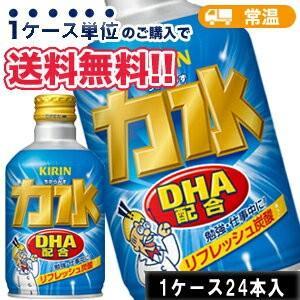 キリン 力水 ボトル缶 300ml×24本 Mets 炭酸 ソーダ サイダー DHA|plusin