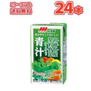 南日本酪農協同 デーリィ 宮崎青汁  125ml×24本 紙パック|plusin