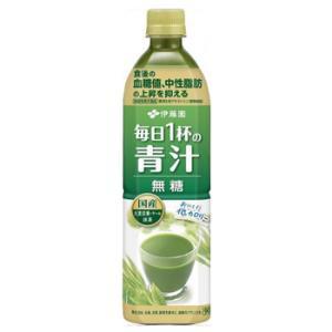 伊藤園 毎日1杯の青汁 無糖タイプ 900mlペット12本入〔青汁 無糖 低カロリー 無着色 ビタミンE 毎日一杯の青汁 抹茶ですっきり飲みやすい〕|plusin