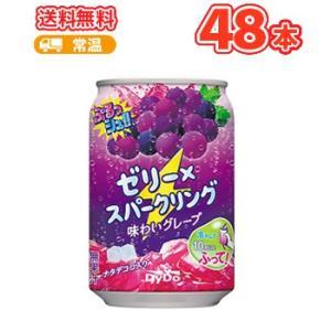 ダイドー ぷるっシュ!! ゼリー×スパークリング味わい グレープ 280g缶 24本入/2ケース|plusin