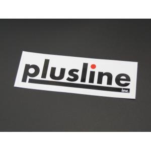 「plusline」 ロゴステッカー plusline(プラスライン) HIGH STYLE(ハイスタイル)|plusline-shop
