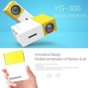 YG300 LEDミニプロジェクター(ビジネス、ホームシアター)  送料無料(海外から直送)