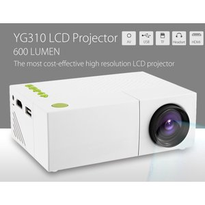 YG310 LEDミニプロジェクター(ビジネス、ホームシアター)  送料無料(海外から直送)