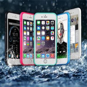 iPhone 6 Plus(6s Plus) 「防水シリコンケース(スポーティー・クール)」 防水 防雪 防塵 耐衝撃 アイフォン スマホケース 送料無料(海外から直送)