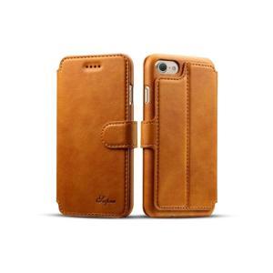 iPhone 7 Plus ケース「手帳型PUレザーケース(フォーマル・クール)」 アイフォン スマホケース 送料無料(海外から直送)