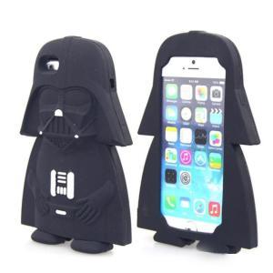 Star Wars(スターウォーズ)iPhone 5/6/6Plus ケース 3Dシリコン製ソフトケース ダースベイダー 送料無料(海外から直送)