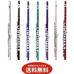 初心者用 フルートセット C管 (7色カラー)  送料無料(海外から発送)