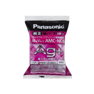 防臭加工 紙パック AMC-NC6 掃除機用 交換用 パナソニック Panasonic