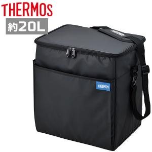 サーモス 保冷バッグ REQ-020 BK ブラック ソフトクーラー 20L|plusmart