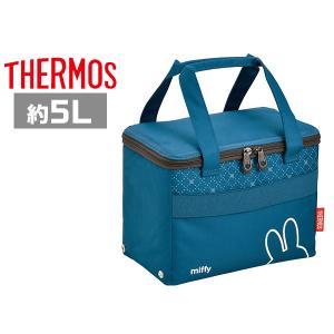 サーモス 保冷バッグ REZ-005B NVY ネイビー(ミッフィー) ソフトクーラー 5L|plusmart
