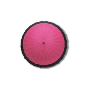 蛇の目風和傘 ピンク 二十四本骨和傘 かさ プレ...の商品画像