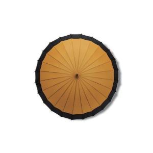 蛇の目風和傘 カラシ 二十四本骨和傘 かさの商品画像