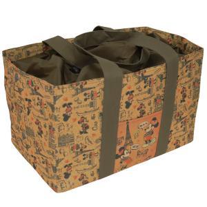 保冷保温ショッピングバッグ ミッキー&ミニー トラベル SBS342大容量 レジカゴ バスケット マイバッグ エコバッグ ディズニー クーラーバッグ クーラーボックス|plusmart