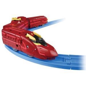 プラレール 新幹線変形ロボ シンカリオン DXS13 ブラックシンカリオン紅 タカラトミー クリスマス プレゼント|plusmart|03