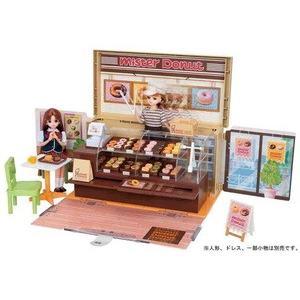 ミスタードーナツショップに、リアルなドーナツ小物が36個も入って新登場! ドーナツをショーケースにな...