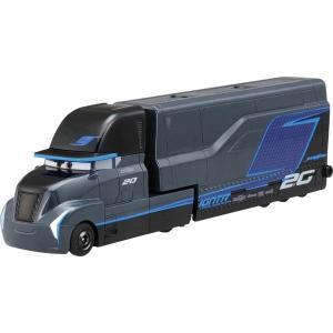 カーズトミカシリーズに映画カーズ3に登場するNEWキャラクターのトラックが登場です。 ズッシリと重い...