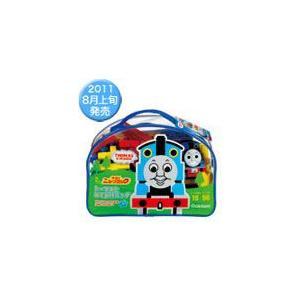 トーマスとニューブロック一緒におでかけできるバッグが新登場! おでかけの際にも自分で持ち歩けるサイズ...