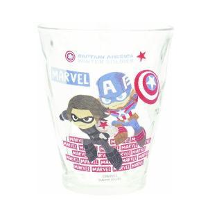 マーベルの人気キャラクターがコミカルに変身してジュースグラスになりました! 日常使いはもちろんインテ...