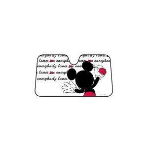 車用日除け ディズニー カーグッズ ミッキー落書きタイプ サンシェード WD-274 ナポレックス プレゼント|plusmart