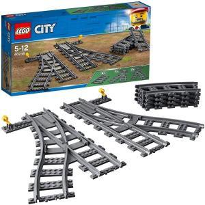 レゴ シティ 交差付きレールセット 60238 LEGO おもちゃ プレゼント|plusmart