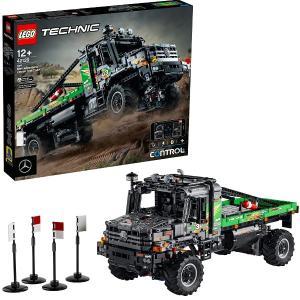 レゴ テクニック メルセデス・ベンツ・ゼトロス - 全輪駆動トラック 42129 LEGO ブロック おもちゃ プレゼント ギフト|plusmart