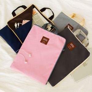 バッグ トートバッグ 手提げ キャンバストートバッグ 公文書入れ 資料入れ A4サイズ iPadケース 内ポケット付き ビジネスサブバッグ サブバッグ|plusnao